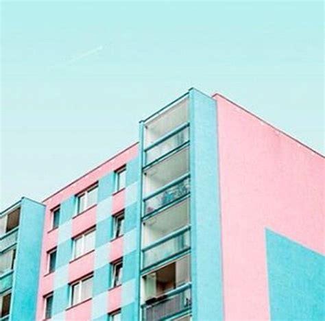 pin  eli  blue redpink aesthetic pastel