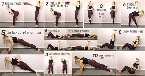 kettlebell exercises abs strong fitness fb paleoplan plan