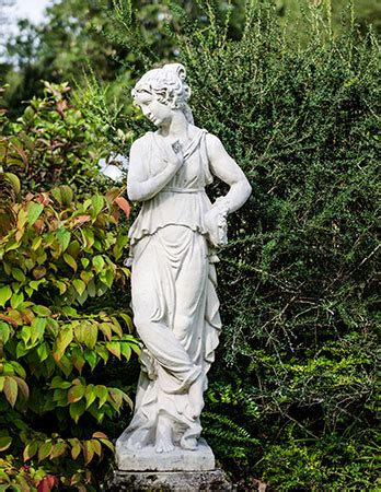 chilstone stone statues ornaments animals fruits
