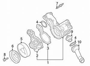 Volkswagen Cabrio Engine Water Pump Pulley  1 9  U0026 2 0