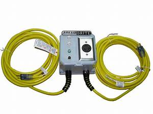 Power Joiner Step Up Inverter Converts Dual 20 Amp 120 Volt Outlets To Allow 240 Volt 4 Wire 20 Amp