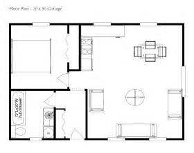 simple cabin floor plans 20x30 cabin floor plans homedesignpictures