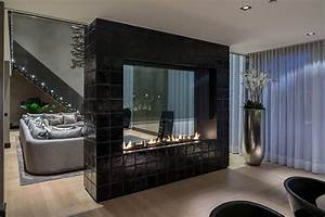 Fireplaces, As, Room, Dividers, 15, Double, Sided, Design, Ideas
