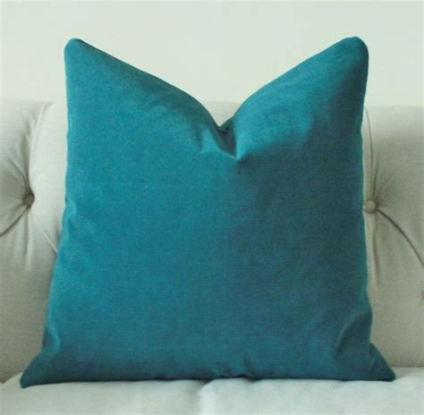 Turquoise Toss Pillows by Decorative Teal Blue Pillow Turquoise Pillow Cover