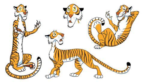 tiger cartoon drawing
