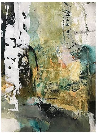 Contemporary Abstract Acrylic Landscape Joan Painting Paintings