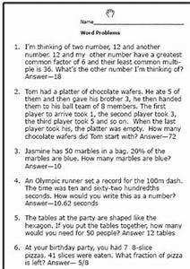 Realistic Math Problems Help 6th