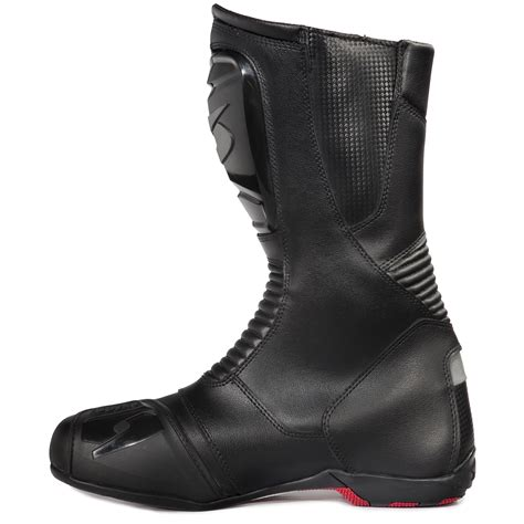 waterproof motorcycle touring boots spyke trophy wp waterproof motorcycle boots winter touring