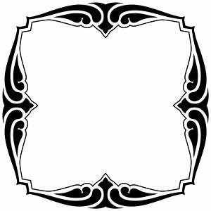 OnlineLabels Clip Art - Decorative Frame 20