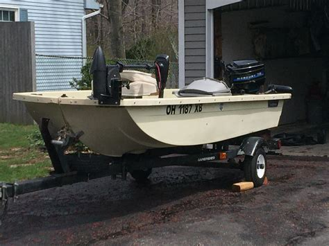 Bass Pro Shop Flats Boat by Small Fishing Boat W Accesorries Ohio Fishing
