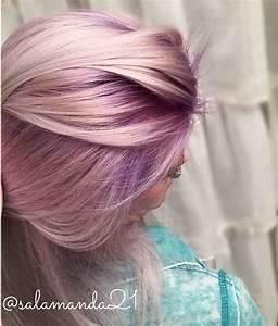 Pastell Lila Haare : purple rooted balayage hair pastell hair bunte haare haar ideen und pastell haar ~ Frokenaadalensverden.com Haus und Dekorationen