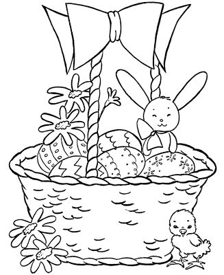 Easter Basket Labels Festival Collections Free Coloring Pages February 2012