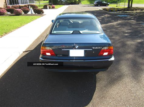 2000 Bmw 740i Base Sedan 4 Door 4 4l