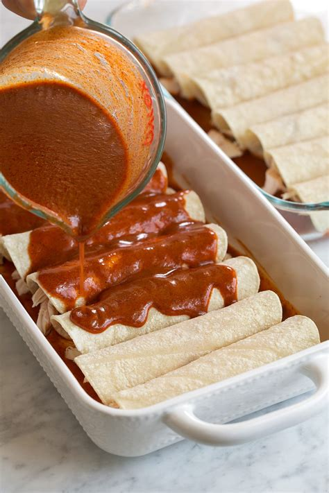enchilada sauce  flavorful  easy cooking classy