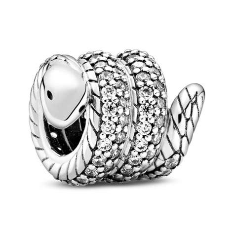 Pandora Sparkling Wrapped Snake CZ Charm - 799099C01 | Ben ...