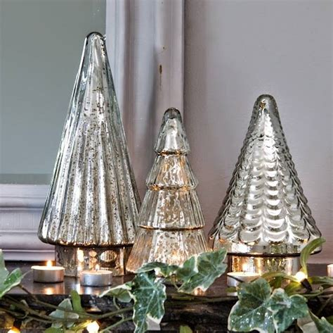 antiqued mirrored glass christmas tree by ella james