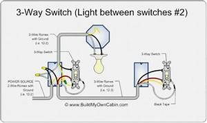Wiring A 3 Way Switch With 2 Wires