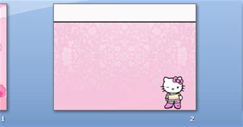 coretan rissa  kitty  powerpoint template