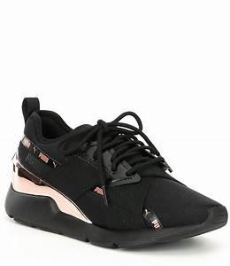 Pick Chart Puma Women 39 S Muse X 2 Metallic Sneakers Dillard 39 S