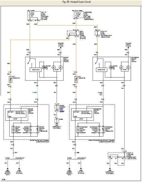 2005 Silverado Heated Seat Wiring Diagram by Help Heated Seat Wiring The 1947 Present