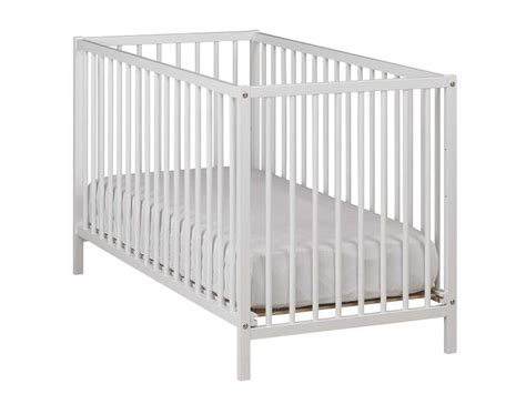 chambre bébé jumeaux lit bébé 60 x 120 cm calinou coloris blanc vente de lit