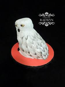 hedwig the owl from harry potter cakecentral