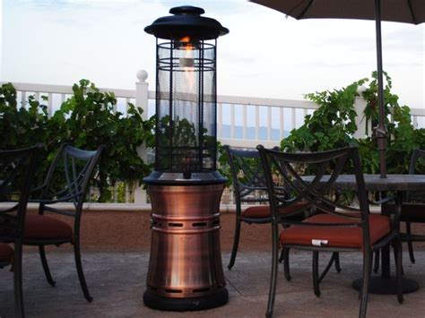 Patio Heater Glass Tube by Lava Heat Ember Propane Patio Heater