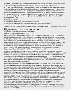 attractive sample government resume 2014 photo resume With federal style resume