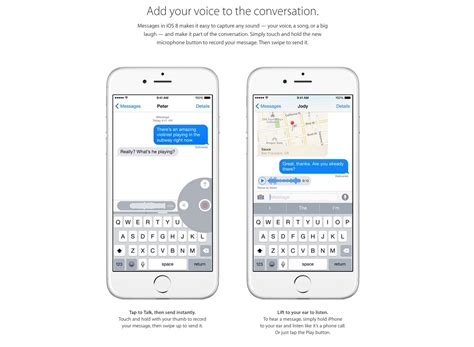 new iphone text messages apple s new iphone 6 ad voice text