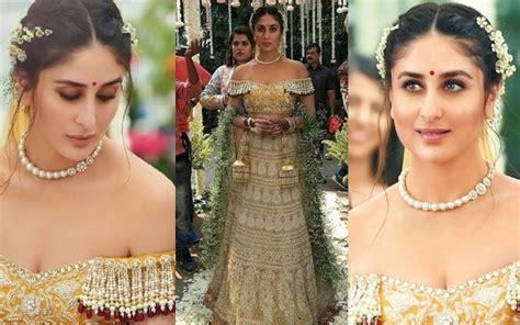 kareena kapoor khans bridal outfit  veere  wedding