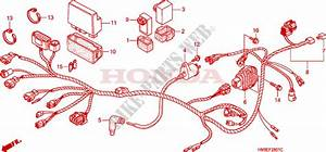 Wire Harness  Trx250te  For Honda Fourtrax 250 Recon