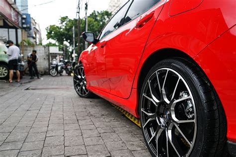 permaisuri civic hatchback turbo  rays azure bna