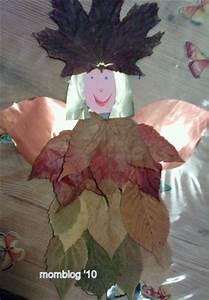 Aus Blättern Basteln : weihnachtsengel aus getrockneten bl ttern basteln ~ Lizthompson.info Haus und Dekorationen