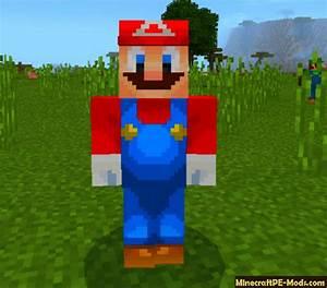 Super Mario 64 Minecraft PE Mod Addon 160 153 15