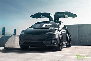 Tesla Modèle X : 2018 tesla model x p100d gets t largo package by t sportline automobile magazine ~ Medecine-chirurgie-esthetiques.com Avis de Voitures