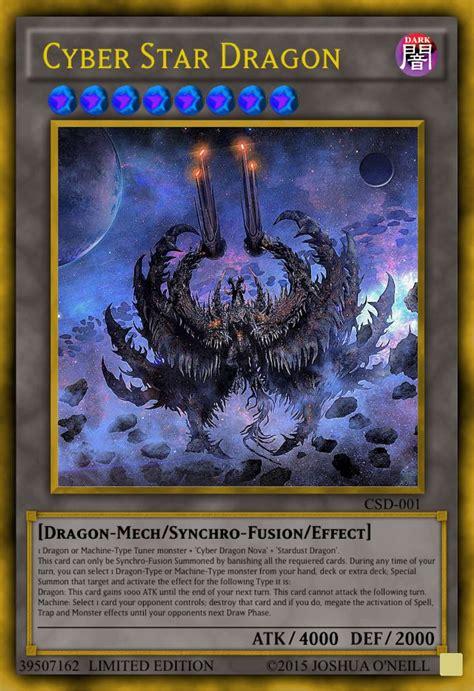cards custom cyber yu gi oh dragon card creator yugioh star user stars movie cool uploaded