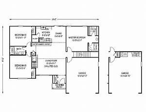 Fox Mill Modest Ranch Home Plan 067d