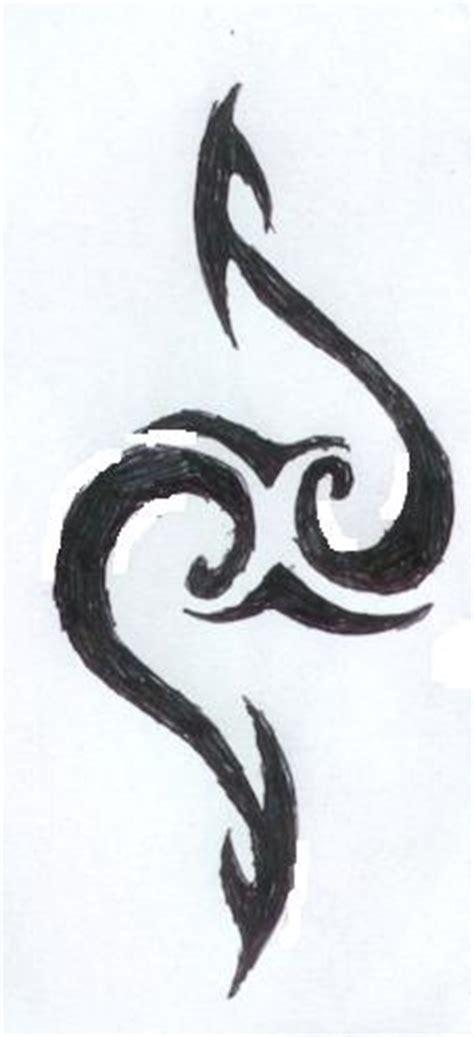 simple tribal heart tattoo interior home design