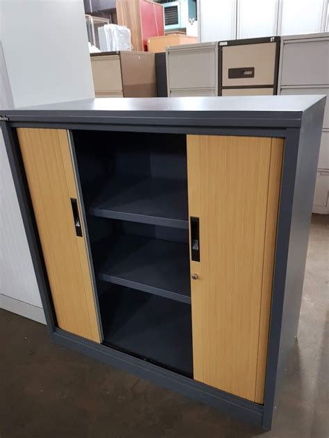 Used Office Cupboards by Used 1m Tambour Cupboards Office Furniture Centre
