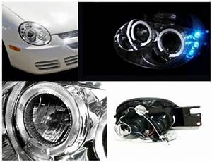 Dodge Neon SRT 4 2003 2005 Clear Dual Halo Projector