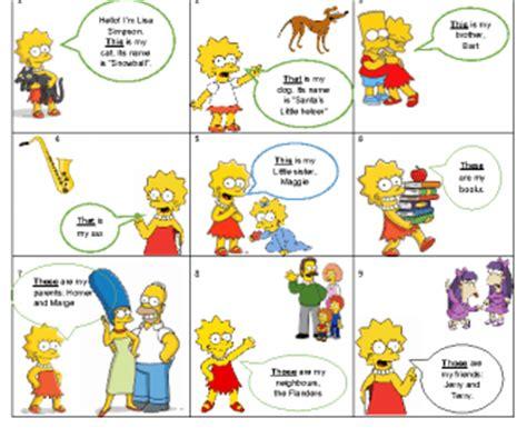demonstrative pronouns   simpsons