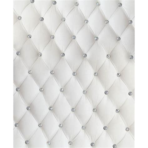 dazzling white tufted printed backdrop backdrop express