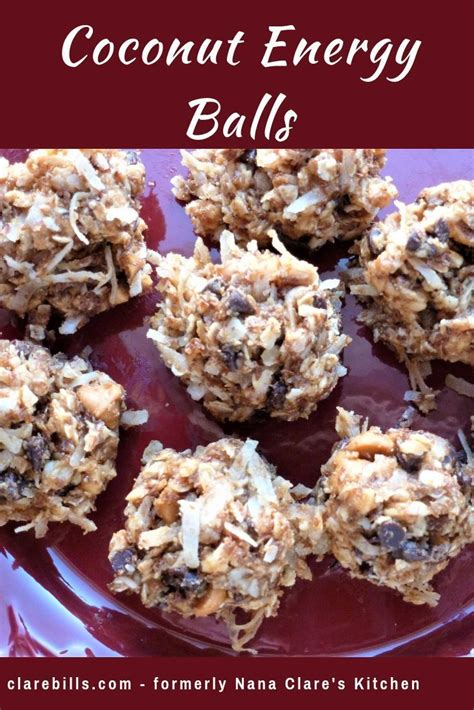 coconut energy balls  bake recipe healthy protein