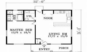 Simple 1 bedroom house plans 1 bedroom house plans with for Simple house plan with 1 bedrooms
