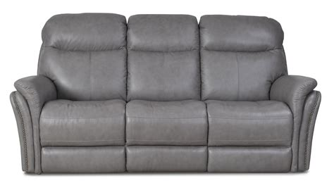gray reclining loveseat gray leather match power reclining sofa loveseat
