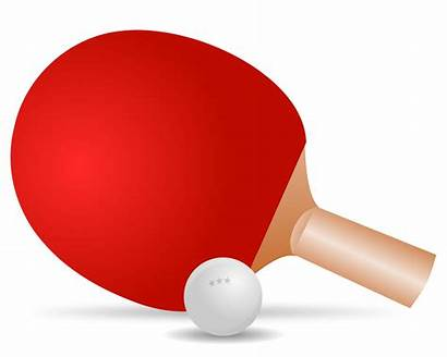 Tennis Table Pong Ping Clipart Clip Transparent