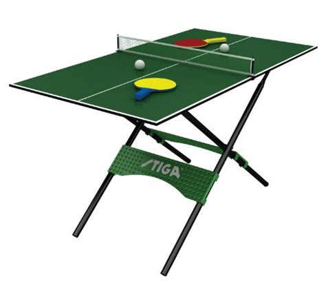 New Small Folding Mini Table Tennis Set 54 Quot Compact Ping