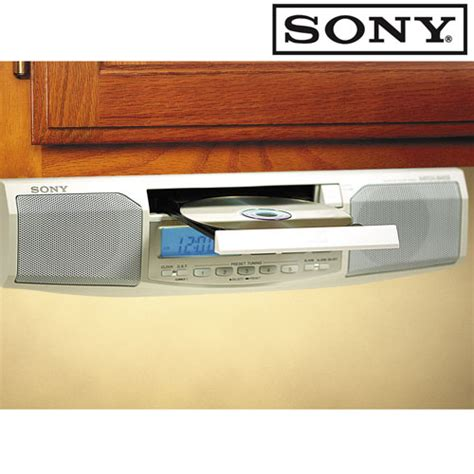 sony under cabinet kitchen cd clock radio heartland america product no longer available