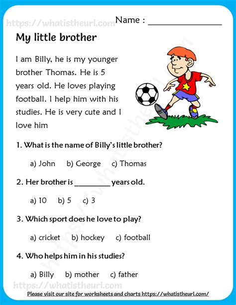 brother reading comprehension  grade