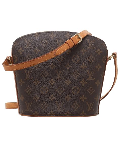 louis vuitton drouot monogram crossbody bag la doyenne